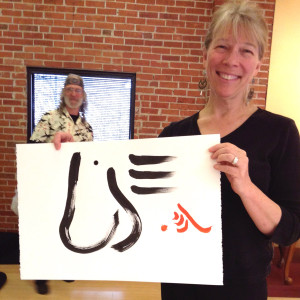 diane-with-calligraphy